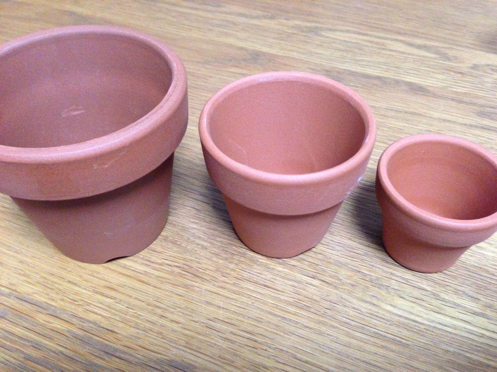 植木鉢 ペイント
